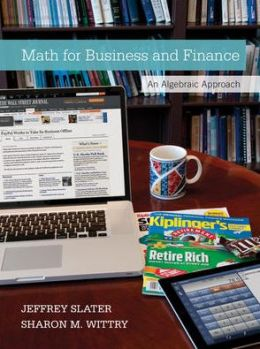 Math for Business and Finance with Connect Plus