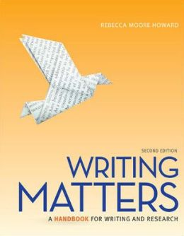Writing Matters Tabbed (Comb Bound Edition)