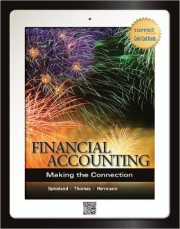 Financial Accounting with Connect Plus Wayne Thomas and Don Herrmann