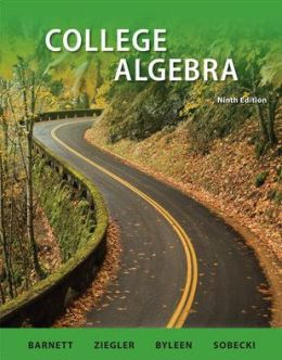 Combo: College Algebra with ALEKS User Guide & Access Code 1 Semester