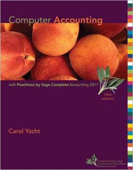 Computer Accounting with Peachtree Complete 2011, Release 19.0