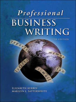 Professional Business Writing, Student Text-Workbook with CD-ROM
