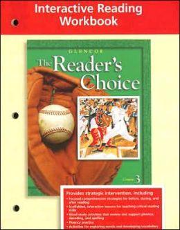 Glencoe Literature Interactive Reading Workbook Grade 8