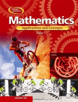 Mathematics: Applications and Concepts, Course 1, Student Edition