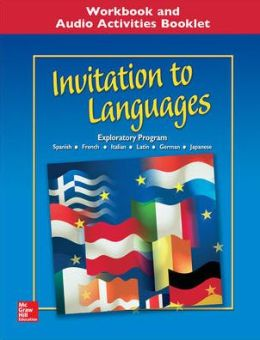 Invitation to Languages, Workbook & Audio Activities Student Edition