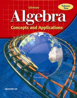 Algebra: Concepts and Applications, Volume 2