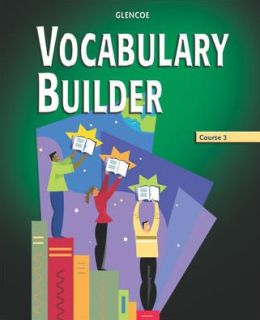 Vocabulary Builder, Course 3, Student Edition