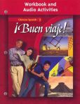 Book Cover Image. Title: Buen viaje! Level 1, Workbook and Audio Activities Student Edition, Author: McGraw-Hill, Glencoe