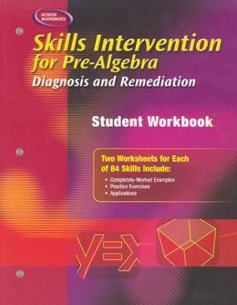 Skills Intervention for Pre-Algebra: Diagnosis and Remediation