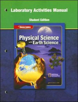 Physical Science with Earth Science Laboratory Activities Manual