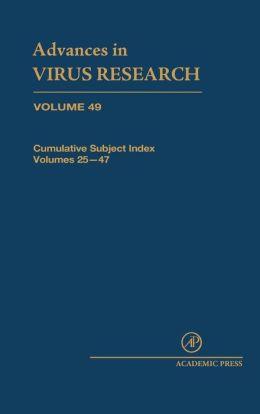 Cumulative Subject Index, Volumes 25-47