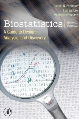 Biostatistics: A Guide to Design, Analysis and Discovery.