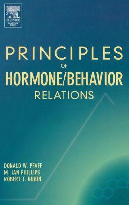 Principles of Hormone/Behavior Relations