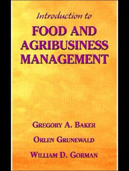 Introduction to Food and Agribusiness Management