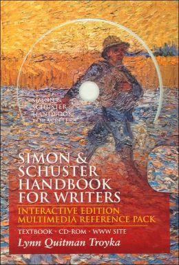 Simon & Schuster Handbook for Writers: Interactive Edition