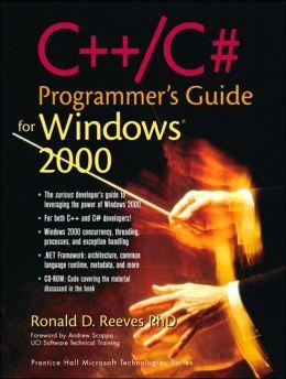 C++/C# Programmer's Guide for Windows 2000