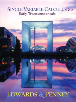 Single Variable Calculus Early Transcendentals Version