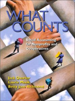 What Counts: Social Accounting for NonProfits and Cooperatives
