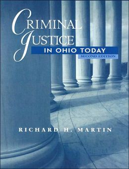Criminal Justice in Ohio Today