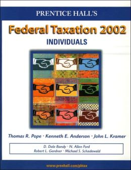 Prentice Hall's Federal Taxation 2002 : Individuals