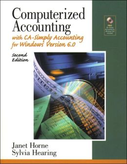 Computerized Accounting w/Simply Accounting V. 6. 0 w/Software Update