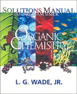 Organic Chemistry (Student Solutions Manual)