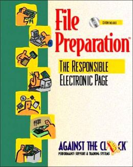 File Preparation: The Responsible Electronic Page and Student CD Package