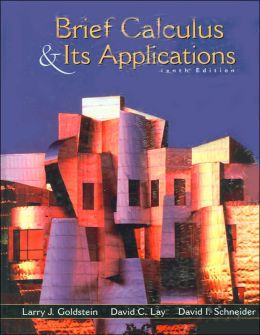 Brief Calculus and Its Application with Study Guide and Selected Solutions Manual