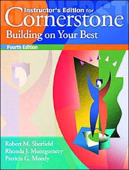 Cornerstone : Building on Your Best -Text Only