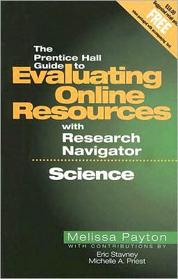 Science, Evaluating Online Resources with Research Navigator
