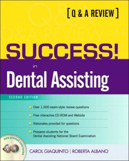 Q&A Review of Dental Assisting with CD-ROM