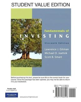 Fundamentals of Investing (Looseleaf)