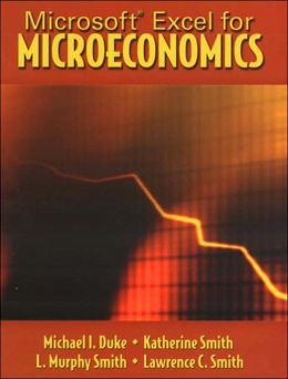 Microsoft Excel for Microeconomics