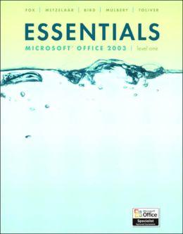 Essentials Microsoft Office Word 2003, Level 2