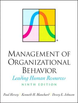 Management of Organizational Behavior: Leading Human Resources