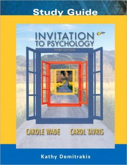 Invitation to Psychology - Study Guide