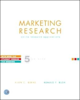 Marketing Research: Online Research Applications with SPSS 13.0 Student Version for Windows