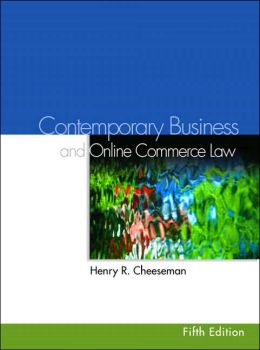 Contemporary Business Law and E-Commerce Law