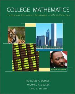 College Math for Business, Economics, Life Sciences & Social Sciences