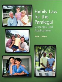 Family Law for the Paralegal