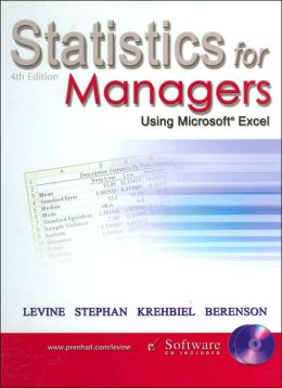 Statistics for Managers Using Microsoft Excel - with CD and 1key