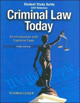 Criminal Law Study Aids - Exam Study Guide - Research ...