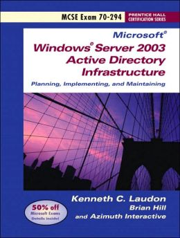 Windows Server 2003 Planning and Maintaining Network Infrastructure (Exam 70-294)