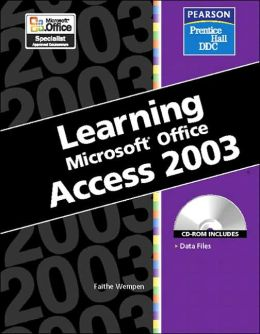 Learning: Microsoft Access 2003