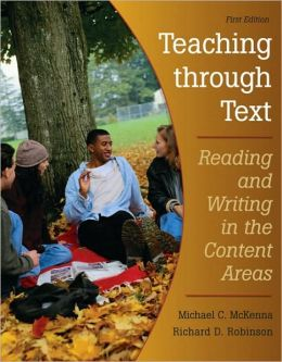Teaching Through Text: Reading and Writing in the Content Areas, VangoBooks