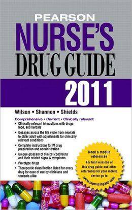 Pearson Nurse's Drug Guide 2011