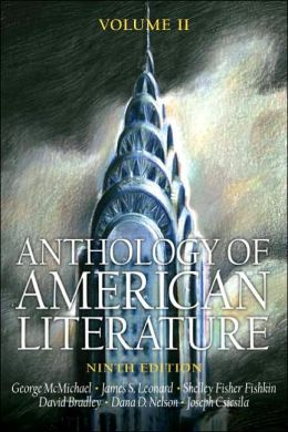 Anthology of American Literature Volume II