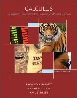 Calculus for Business, Econonmics, Life Sciences & Social Sciences