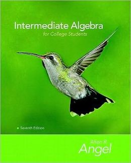 Intermediate Algebra for College Students Value Package (Includes Mymathlab/Mystatlab Student Access)