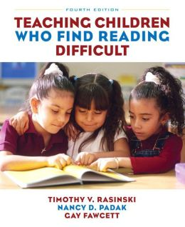 Teaching Children Who Find Reading Difficult